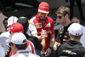 Alonso garante que está perfeitamente bem
