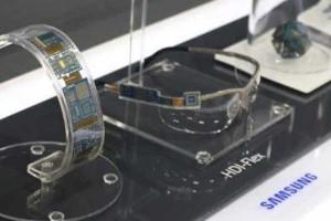 Samsung prepara lançamento de displays flexíveis