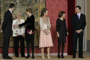Pilar de Borbón veio a Portugal fazer compras de Natal