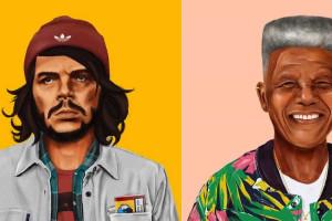 De Che a Mandela, veja os líderes mundiais em estilo Hipster