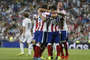 Atlético marca encontro com Real Madrid nos oitavos de final