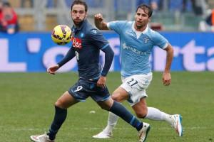 Nápoles perde por 1-0 contra o Lazio