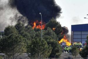 Queda de F16 grego em Espanha provoca pelo menos dez mortos