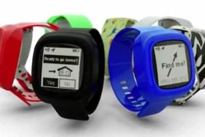 Um relógio inteligente dedicado às crianças