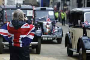 Economia do Reino Unido desacelera no primeiro trimestre