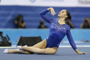 Ginástica acrobática 'invade' a Maia