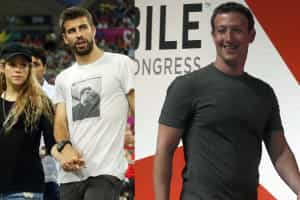 Zuckerberg jantou com Piqué e Shakira em Barcelona