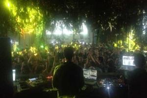 DJ Vibe no cartaz do festival Rock in Rio EUA