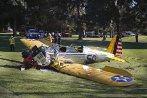 Harrison Ford em estado crítico após acidente com avioneta