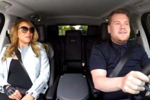 Mariah Carey também canta no carro