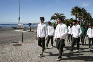 Santos não acompanhou jogadores no passeio matinal
