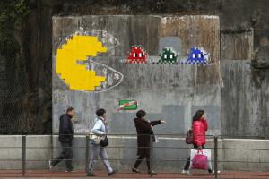 Transforme ruas de cidades em níveis do 'Pac-Man'
