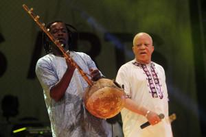 Músico Salif Keita no Músicas do Mundo
