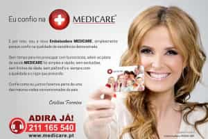 Cristina Ferreira novo rosto MEDICARE