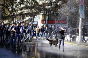 Detidas 172 pessoas durante os protestos estudantis no Chile