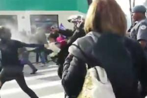 Violência policial a jovens marca dia de protestos no Brasil