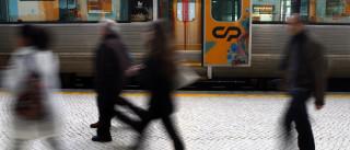 Cinco detidos por entrada ilegal no país em comboios internacionais