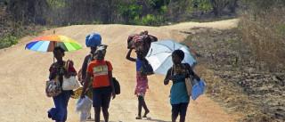 Moçambicanos rejeitam guerra civil para saída de conflito