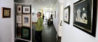 Fotografias revelam a partir de hoje interior da casa de Cesariny