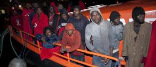 Polícia espanhola resgata 325 imigrantes ao largo da Líbia