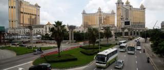 Casinos de Macau continuam em forte queda