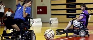 Única equipa portuguesa de futebol em cadeira de rodas elétrica promove modalidade