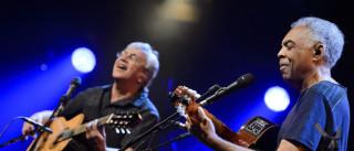 Caetano Veloso e Gilberto Gil encerram festival cooljazz em Oeiras