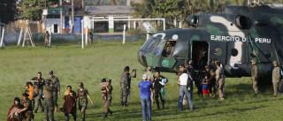 Resgatados 7 menores e 8 adultos retidos na selva peruana
