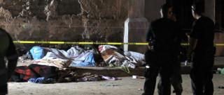 Sobe para 27 número de vítimas atropeladas por camião no México