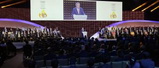 Laurent Fabius felicita Pequim pelos Jogos Olímpicos de inverno de 2022