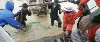 Pelo menos 27 mortos e milhares de afetados em inundações na Birmânia