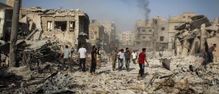 Pelo menos 18 mortos e 40 feridos em ataques na Síria