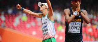 Pedro Isidro foi 21.º nos 50 km marcha com novo recorde pessoal