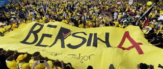 Milhares em protesto na Malásia para exigir a demissão do primeiro-ministro