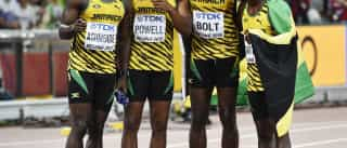 Bolt faz nova 'tripla' ao conquistar ouro da Jamaica nos 4x100 m