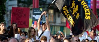 "Viena 'manifesta-se' contra ""tratamento desumano"" dos migrantes"