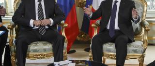 Hollande e Putin analisam em Moscovo ofensiva ao ISIS