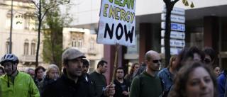 Centenas de manifestantes em Lisboa em defesa do clima