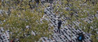 Polícia francesa deteve 208 pessoas nos incidentes de Paris