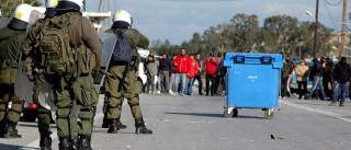 Nova manifestação em Kos contra centro de registo de migrantes