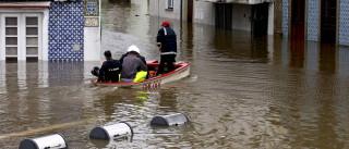 Águeda espera que o rio desça, acessos são a maior preocupação