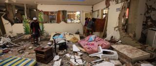 Homem de 72 anos salvo dos escombros 13 dias depois de sismo