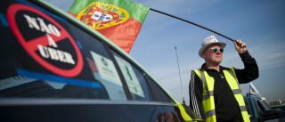 Taxistas já iniciaram marcha de protesto em Lisboa e Porto
