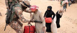 Mais de 60 mil sírios estão na fronteira com a Jordânia