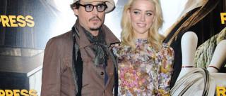Johnny Depp declara o seu amor por Amber Heard