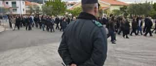 Militar da GNR ferida em protesto contra secretária de Estado