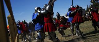 Viagem Medieval com entrada livre hoje, dia de abertura