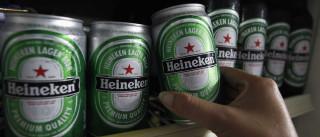 Lucros da Heineken 'disparam' graças aos mercados emergentes