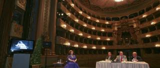 Bailado 'A Bela Adomecida' pela companhia nacional no Teatro São Carlos