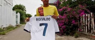 Ronaldo feliz com apoio do 'seu' Sporting a Martunis